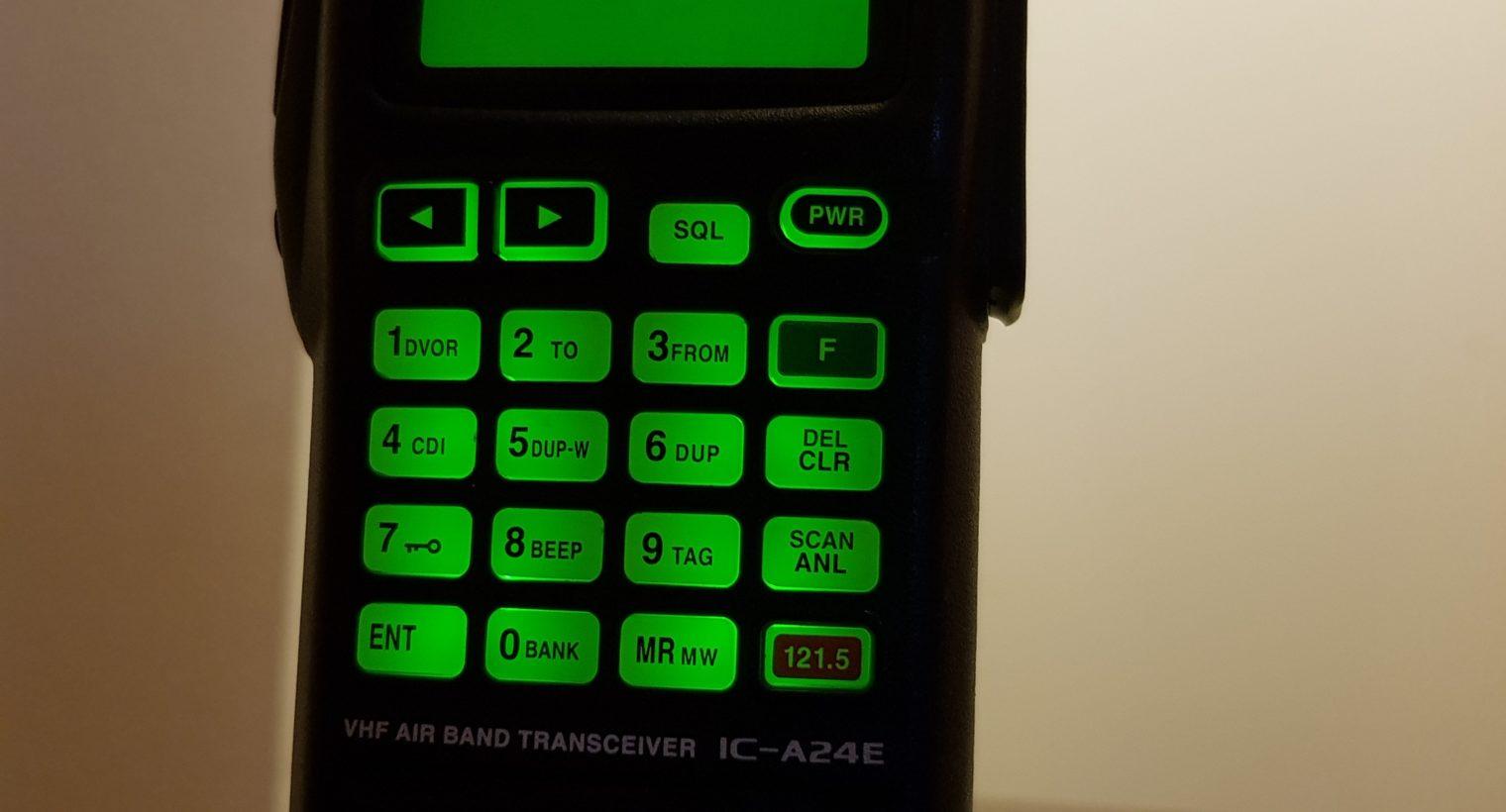 Radio iCOM A24E