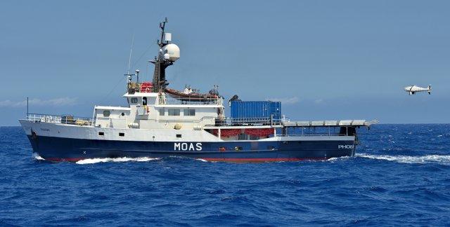 CAMCOPTER Helps Save Mediterranean Refugees